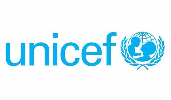 UNICEF LOGO HELP BABY